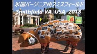 アメリカ バージニア州スミスフィールド Smithfield, Virginia, USA 2018