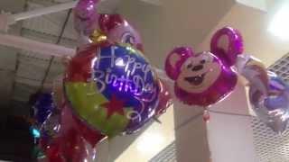 Микки Маус  米老鼠 Mickey Mouse гелиевые шарики воздушные в Киеве в торговом комплексе Дрим Таун(, 2015-11-12T20:21:27.000Z)