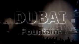 Dubai Fountain show: Bijan Mortazavi : Amvaj ( HD 1080/60P )