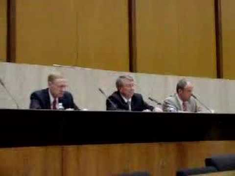 Panel discussion on port security