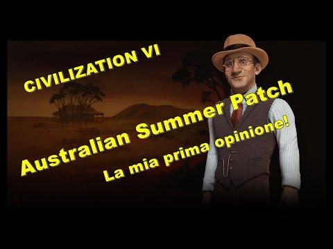 Civilization VI Australian Summer Patch! + DLC Australia e nuovo scenario!
