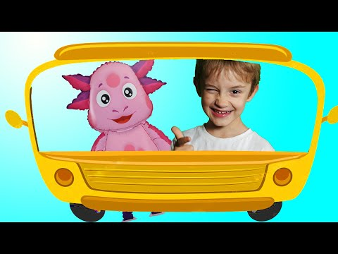 Thumbnail: Wheels on the Bus School Songs Nursery Rhymes for Kids, Learn colors with Baby and balls by Dave