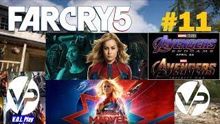 Far Cry 5 #11 - Капитан Марвел и Мстители: Финал снимались в Монтане???