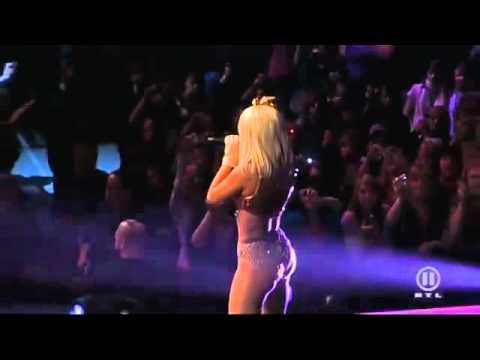 Lady GaGa Just Dance, Poker Face Live