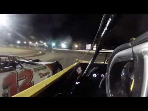 Frank Heckenast Jr. Farmer City Raceway 2014 Illini 100 Heat Race