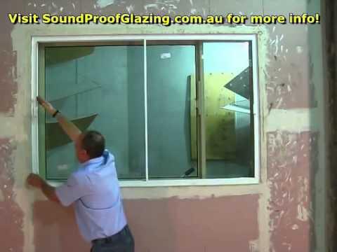 Sound Proof Windows Horizontal Slider Youtube