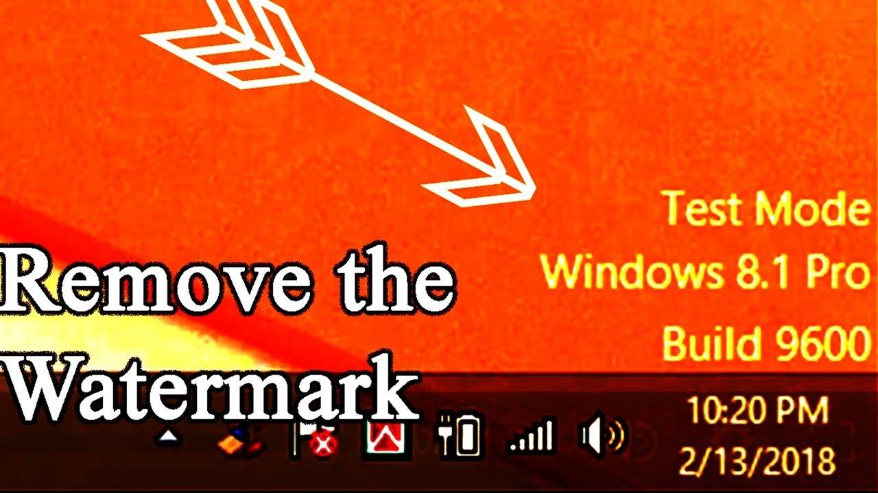 windows 8.1 watermark remover 9600 download