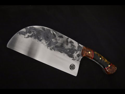 Knife Making: Serbian Kitchen Cleaver Knife