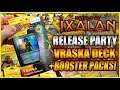Rivals of Ixalan Release Party in Japan - Magic the Gathering Planeswalker Deck and Booster Opening