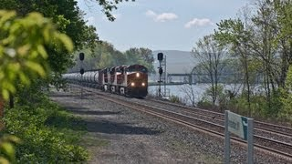 HD: Fast Freight in The Mohawk Valley - Part 1 - 05-10-13