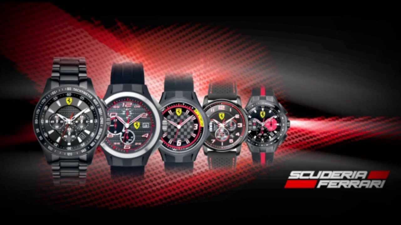 negozio online 4b3ea 981db Ferrari Scuderia Orologi