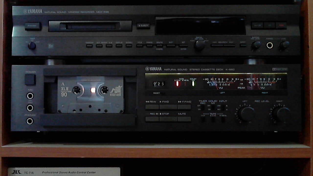 Yamaha K Cassette Deck