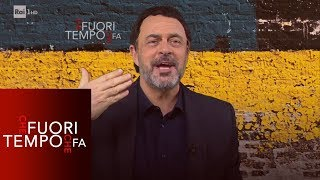 """Maurizio Crozza: il """"wrestling"""" della politica - Che fuori tempo che fa 14/01/2019"""