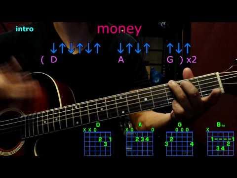 money 5 seconds of summer guitar chords