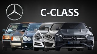Mercedes-Benz C-Class Evolution | W201 to W206 | 1982 to 2021