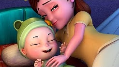 Hush a Bye Baby | Lullaby for Babies | Infobells