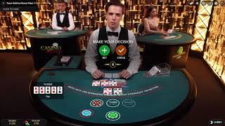 Live Texas Hold' em Bonus Poker - Finally Money Back