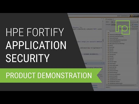 HPE Fortify Application Security - Demo and Presentation