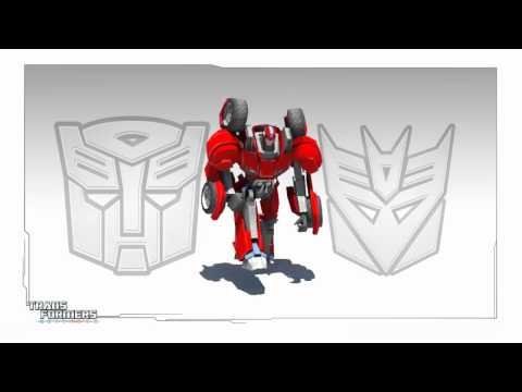 Transformers Universe Screensaver from Botcon 2011