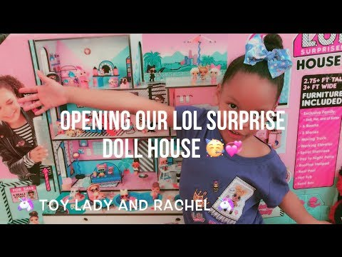 LOL Surprise Doll House Unboxing blind bag toy