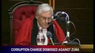 Corruption charge dismissed against Zuma