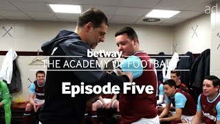 Slaven Bilic gives a surprise team talk to the West Ham Amateur team   #BetwayAcademy Ep 5.