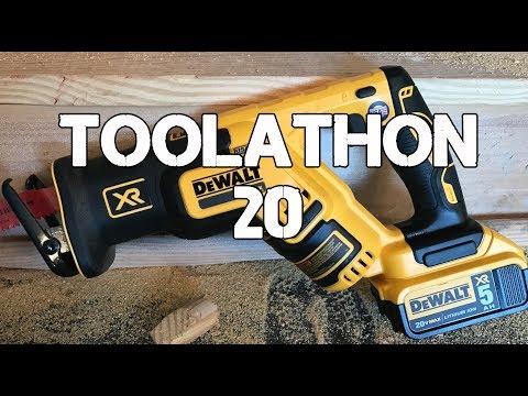 Toolathon 20 - DeWALT, KEEN, Truewerk, Pali, Vampliers, RYOBI, WIFI outlets and Black and Decker