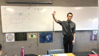 HSC Conics Geometry Question (1 of 4: Equation of the Normal)