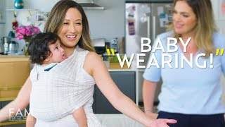 Baby Wearing Wraps: Solly Baby, Moby Wrap, and More! | FAM: For All Moms