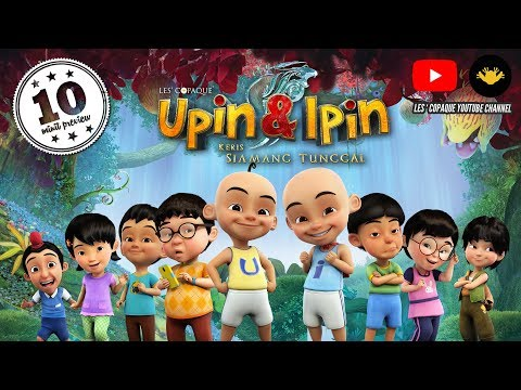 Upin & Ipin : Keris Siamang Tunggal (Full Movie 10 Minutes)