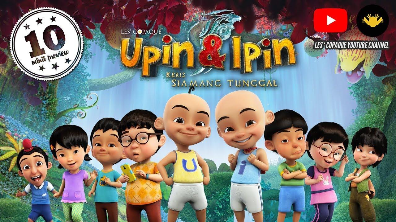 Upin Ipin Keris Siamang Tunggal Full Movie 10 Minutes Youtube