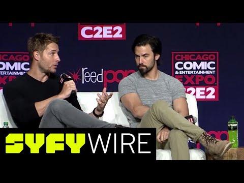 This Is Us' Milo Ventimiglia & Justin Hartley Full Panel  C2E2  SYFY WIRE