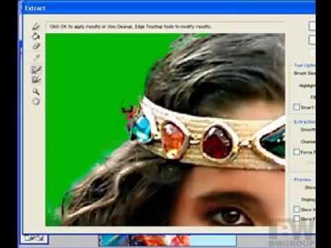 Hướng dẫn cắt ghép ảnh Extract Photoshop http://HocPhotoshop.Com