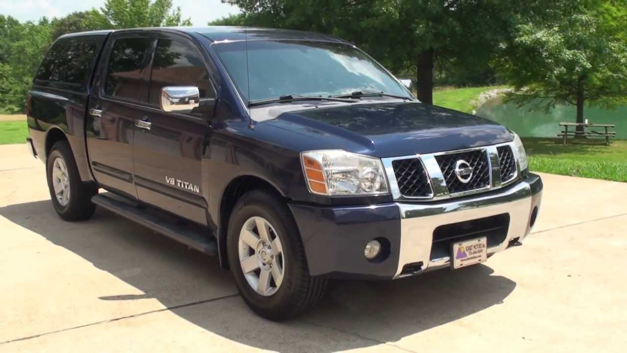 HD VIDEO 2006 NISSAN TITAN TRUCK CREW CAB LE USED FOR SALE SEE WWW  SUNSETMILAN COM   YouTube