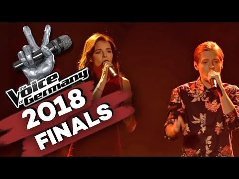 Radiohead - Creep (Benjamin Dolic & Yvonne Catterfeld) | The Voice of Germany | Finale