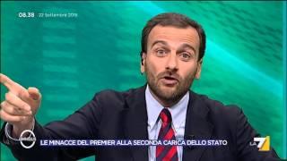 Omnibus - Renzi, i talk e la tentazione dell