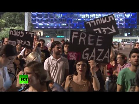 Israelis protest IDF Gaza bombing as deadly op drags on