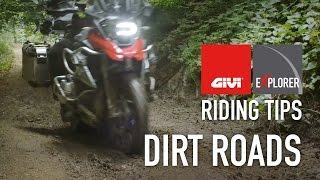 Dirt roads on motorcycle | Riding tips