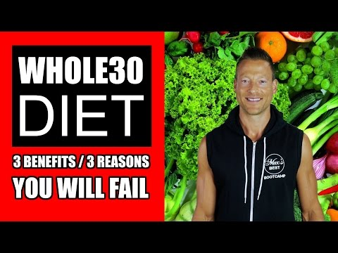 3 REASONS THE WHOLE 30 DIET IS WORTH IT + 3 REASONS YOU WILL FAIL | Whole30 Diet Results & Review