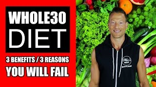 🔴 LIVE: 3 REASONS THE WHOLE 30 DIET IS WORTH IT + 3 REASONS YOU WILL FAIL | Whole30 Diet Review