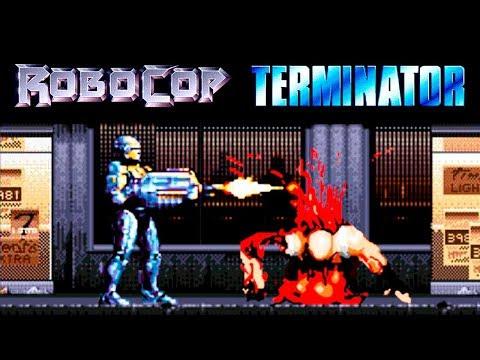 Robocop Vs Terminator прохождение (Sega Mega Drive, Genesis)