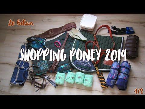 [ Haul équitation ] Bilan Shopping Poney 2019 🛍️💸🐴