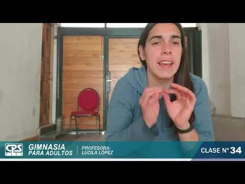 34 ° Clase de Gimnasia para Adultos