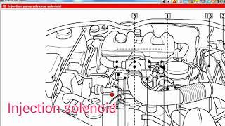 [Workshop] Peugeot Partner 1.9D DW8 (WJY) P0170 P1130 DTCs. Injection advance solenoid open circuit.