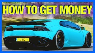Forza Horizon 4 : HOW TO GET MONEY FAST!!