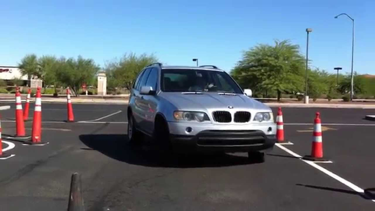 3 point turn front view driving test at greenfield az for Motors and vehicles az