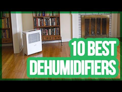 10 Best Dehumidifiers 2017