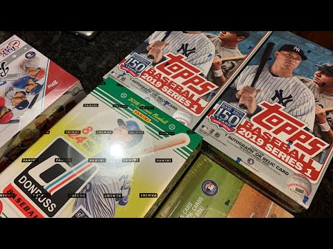 BOX BREAKS!  2019 TOPPS AND MORE!