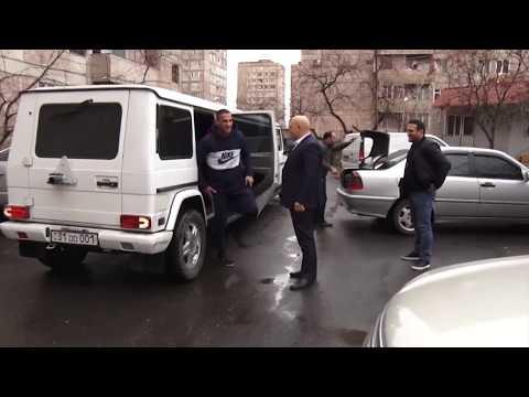 Как встречали чемпиона мира (GLORY) Арута Григоряна HD