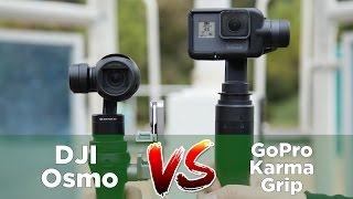 Osmo VS  GoPro Grip thumbnail